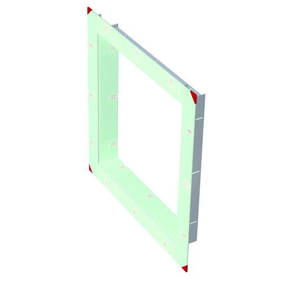 pr cadre rupture de pont thermique pour menuiserie en aluminium pr cadre rpt groupe louineau. Black Bedroom Furniture Sets. Home Design Ideas