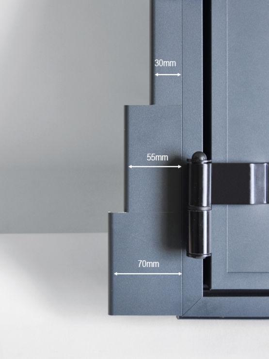 pr cadre pour volets battants thiebaut industrie. Black Bedroom Furniture Sets. Home Design Ideas