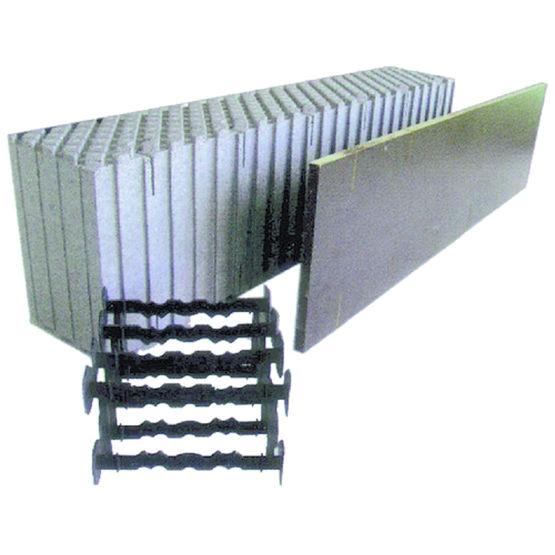 Proc d constructif pour mur b ton inertie thermique lourde magu bausyste - Fiche technique bloc a bancher ...