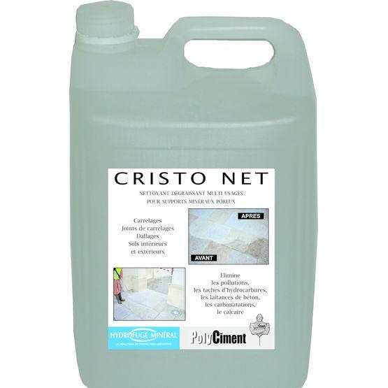 Produits de nettoyage pour mat riaux poreux cristo net - Materiaux net ...