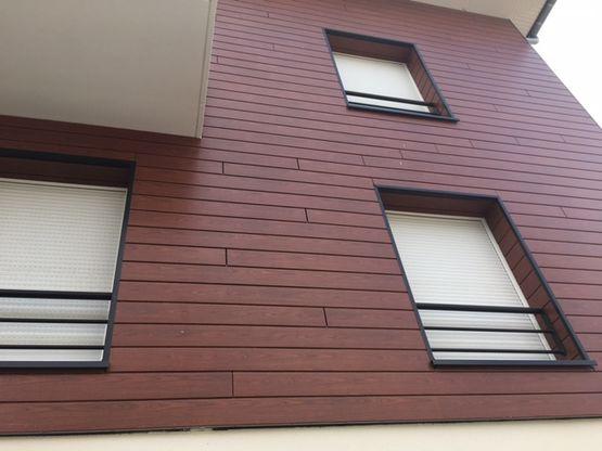 profil de fa ade en bois bardage selekta aspect dekopan werzalit. Black Bedroom Furniture Sets. Home Design Ideas