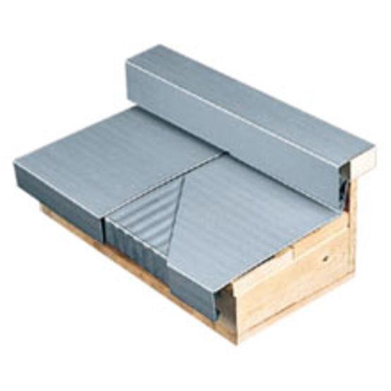 profil en zinc pour raccords de couvertines et fa tages