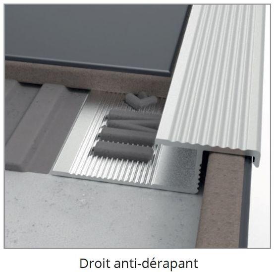 Nez De Marche Antiderapant Profile Technique Pour Les Marches Des Escaliers Batiproduits