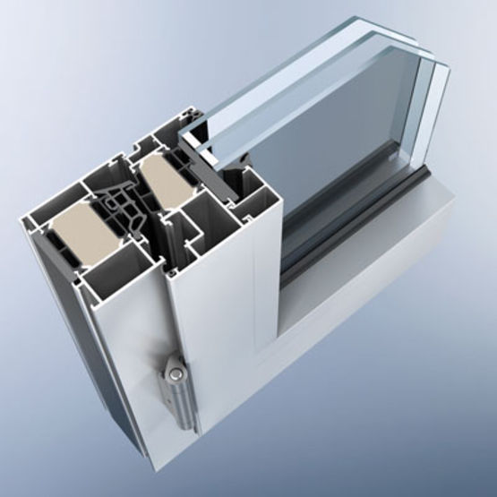 profil s isol s en aluminium pour fen tres profiserie 110 es heroal. Black Bedroom Furniture Sets. Home Design Ideas