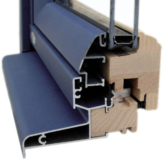 Profil s mixtes en bois aluminium mc2 frappes mc france for Fabricant fenetre aluminium