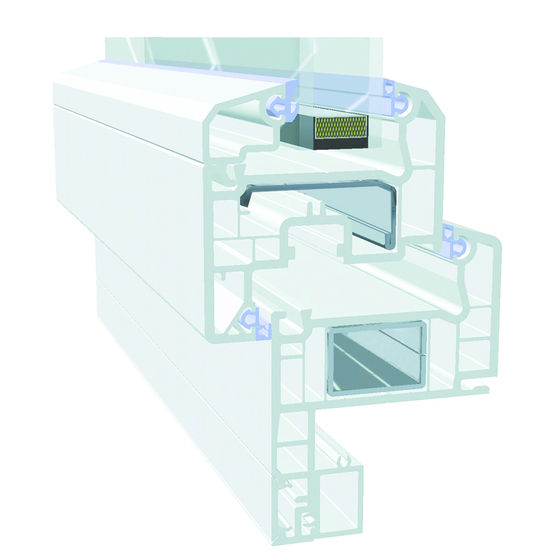 Profilés PVC de 70 mm d'épaisseur pour fenêtres et porte-fenêtres - VEKA