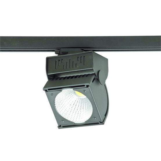 projecteur led jusqu 39 50 watts sur rail lectrique procyon holight france. Black Bedroom Furniture Sets. Home Design Ideas