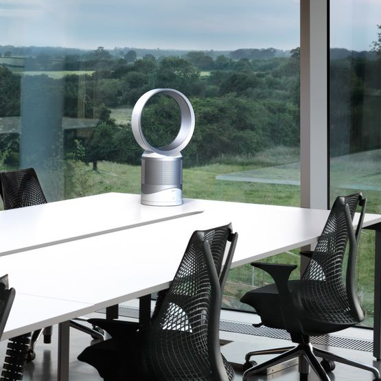purificateur d 39 air dyson pure cool link desk avec t l commande. Black Bedroom Furniture Sets. Home Design Ideas