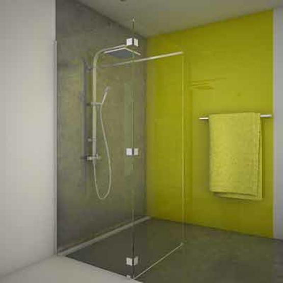 quincaillerie miniature pour paroi de douche sans joints ni corni res walk in adler sas. Black Bedroom Furniture Sets. Home Design Ideas