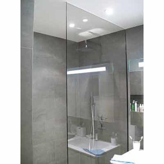 Berühmt Quincaillerie miniature pour paroi de douche sans joints ni  ZH21