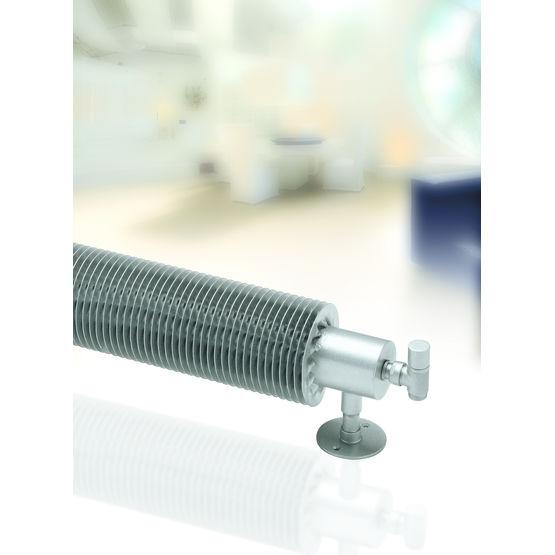 radiateur horizontal tube cylindrique et ailette h lico dale flow form runtal. Black Bedroom Furniture Sets. Home Design Ideas