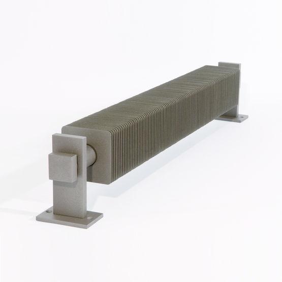 radiateur industriel ailettes carr es vd 4631 varela design. Black Bedroom Furniture Sets. Home Design Ideas