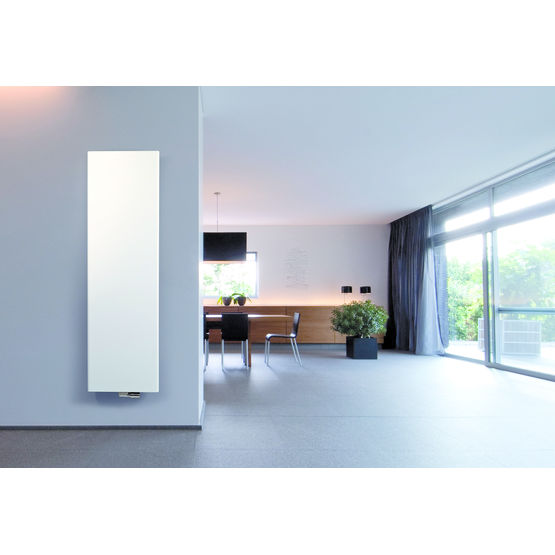 radiateur vertical eau chaude en acier laqu niva soft vasco vasco group. Black Bedroom Furniture Sets. Home Design Ideas