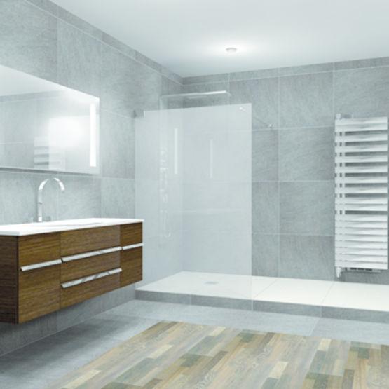 receveur de douche fleur de sol tub bol lux elements. Black Bedroom Furniture Sets. Home Design Ideas