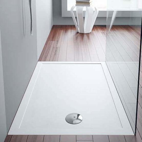 receveur de douche en porcelaine sanindusa. Black Bedroom Furniture Sets. Home Design Ideas