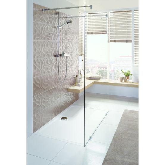 Receveur de douche extra plat jusqu 140 cm de longueur - Receveur de douche extra plat ceramique ...
