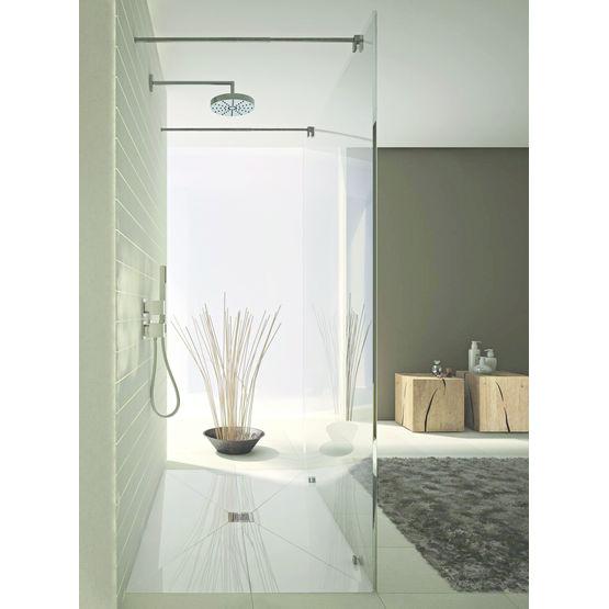 receveur en polystyr ne rev tu pour douches de plain pied. Black Bedroom Furniture Sets. Home Design Ideas