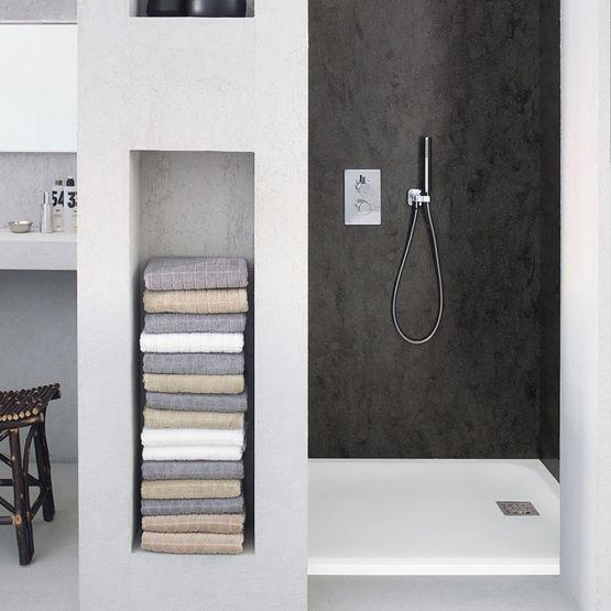 Receveurs de douche en corian corian casual shower tray dupont corian - Receveur douche corian ...