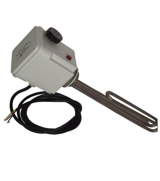 Résistance d´appoint thermoplongeur inox 230V ou 400V triphasé raccordement 1''1/2M | Thermador