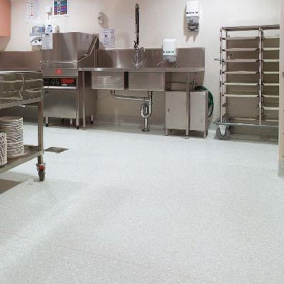 rev tement de sol antid rapant pour cuisines collectives tarasafe plus gerflor. Black Bedroom Furniture Sets. Home Design Ideas