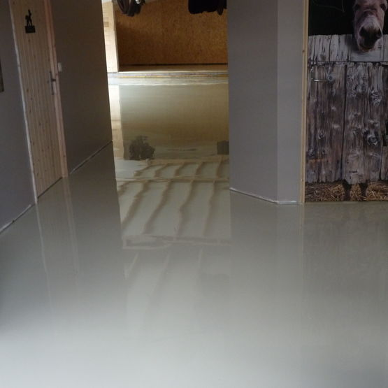 Sol epoxy interesting sol epoxy with sol epoxy resine for Peinture satinee algerie