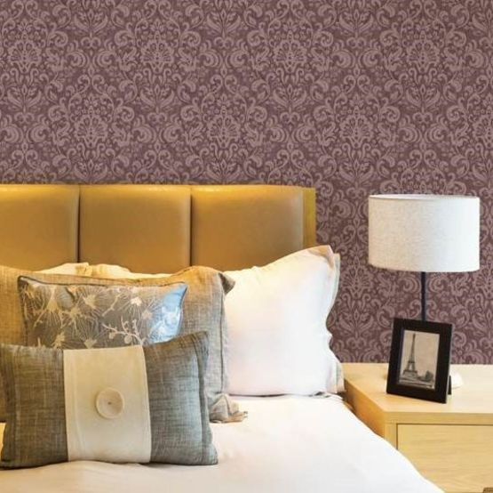 osaka damask rev tement mural pvc d 39 aspect damass. Black Bedroom Furniture Sets. Home Design Ideas