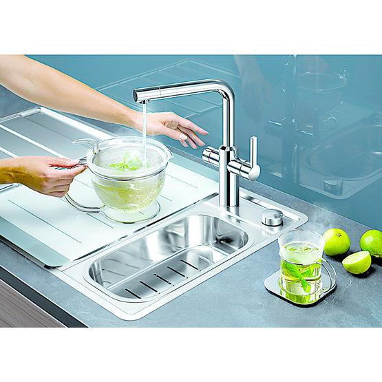 Robinet mitigeur et r glage d eau chaude s par s - Reglage robinet thermostatique ...