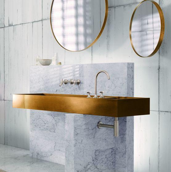 Robinetterie design pour lavabo douche bidet et baignoire for Revue salle de bain