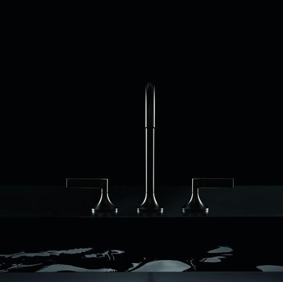 Robinetterie design pour lavabo douche bidet et baignoire for Robinetterie salle de bain design