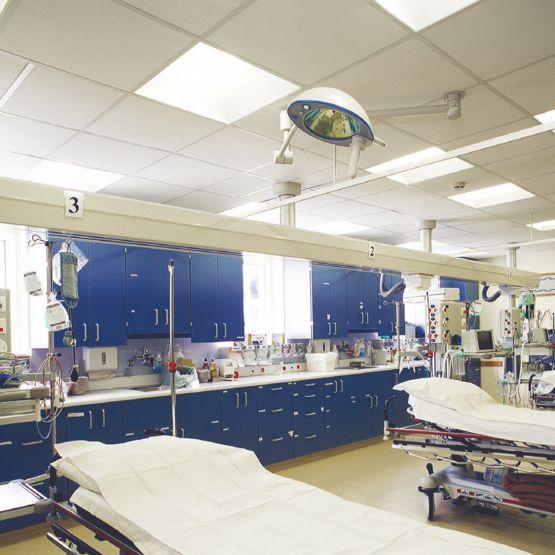 rockfon medicare air plafond acoustique en laine de. Black Bedroom Furniture Sets. Home Design Ideas