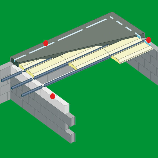 ruptures thermiques pour plancher vide sanitaire seacwatt seac. Black Bedroom Furniture Sets. Home Design Ideas