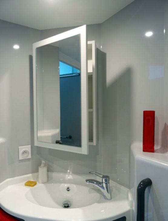 salle de bain monobloc compacte et m dicalis e mellite baudet sa. Black Bedroom Furniture Sets. Home Design Ideas