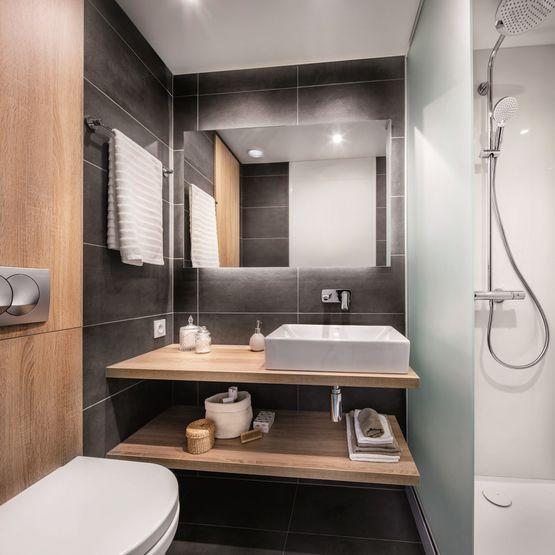 Salle de bain préfabriquée compacte | OLYMPIE