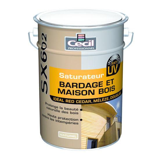 Saturateur pour protection des fa ades ou bardages en bois sx 602 cecil professionnel - Produit pour nettoyer les facades de maison ...
