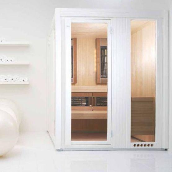 sauna panneaux infrarouges multi sauna infrarouge tyl nordique france. Black Bedroom Furniture Sets. Home Design Ideas