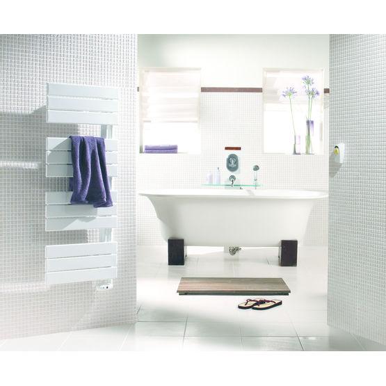 Seche serviettes electrique lectrique design avec for Seche serviette avec ou sans fluide