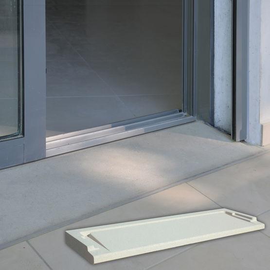 Seuil De Franchissement Pour PMR Seuil PMR WESER - Seuil de porte en beton