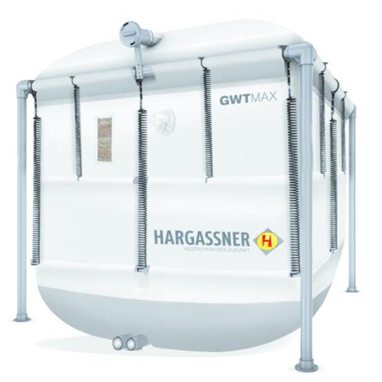 silo pour alimentation pneumatique de chaudi re pellets hargassner france. Black Bedroom Furniture Sets. Home Design Ideas