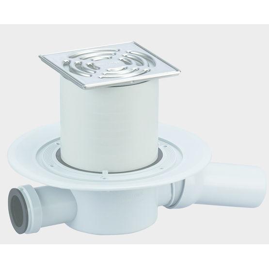 Siphon de sol fonctionnant avec ou sans eau dallmer for Syphon de sol exterieur