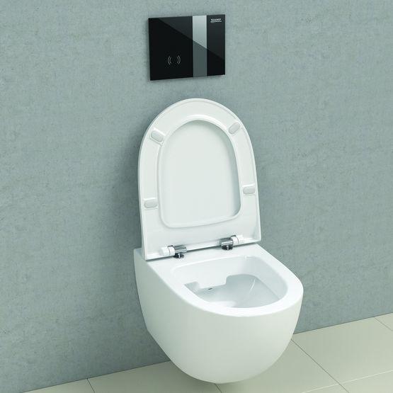 comment installation un wc suspendu siamp monaco. Black Bedroom Furniture Sets. Home Design Ideas