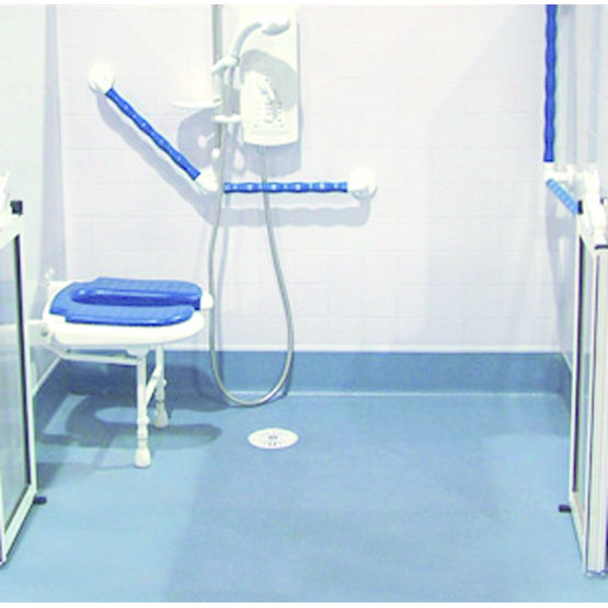 sol de douche l 39 italienne carreler tuff form akw medicare. Black Bedroom Furniture Sets. Home Design Ideas