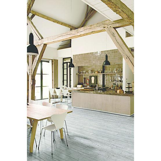 sol stratifi d 39 aspect bois avec ou sans chanfreins livyn unilin quick step. Black Bedroom Furniture Sets. Home Design Ideas