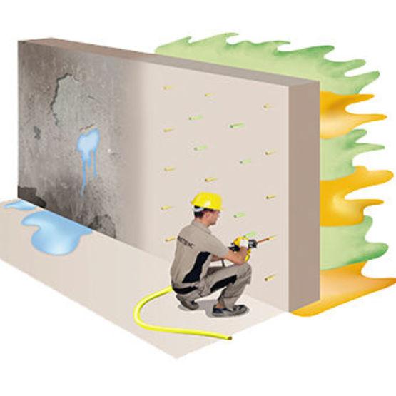 water barrier une solution innovante cr ant une paisse barri re contre les infiltrations d eau. Black Bedroom Furniture Sets. Home Design Ideas