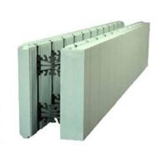 Solution pour murs isolants en b ton coffrage isolant for Isolant pour mur exterieur
