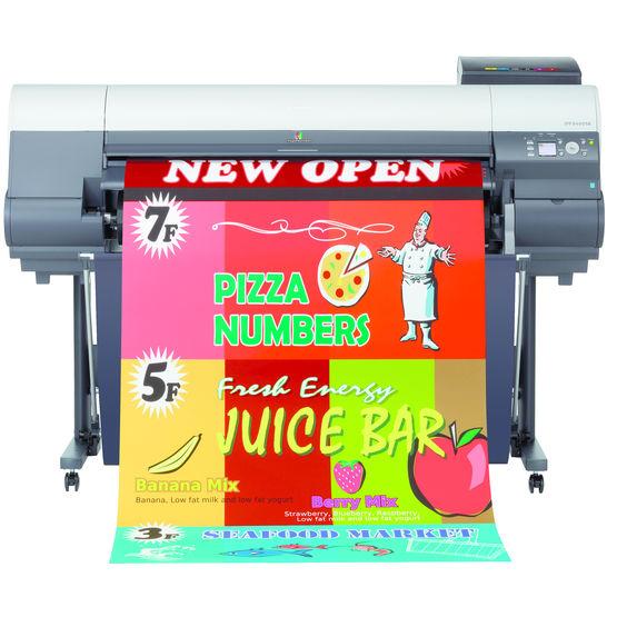 solutions d 39 impression grand format 44 39 39 pour points de vente affiches et posters canon