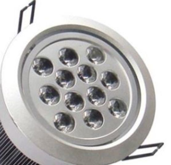 Spot Muli LED Rond Gris 12x1W | Premium - LED LIGHTING FRANCE