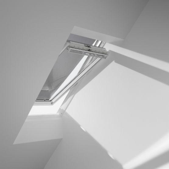 Store v nitien velux lamelles orientables en aluminium laqu for Store venitien exterieur aluminium