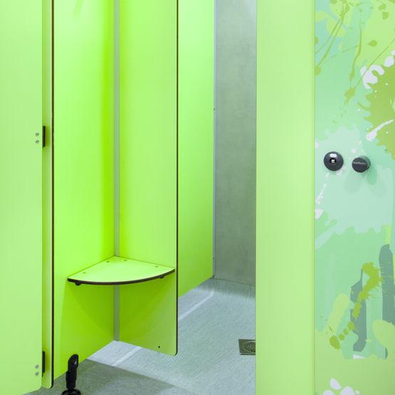 stratifi compact autoportant en plus de 500 coloris. Black Bedroom Furniture Sets. Home Design Ideas