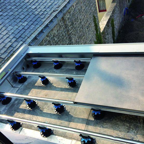 Support Alu Structure Metallique Double Profil Pour Support