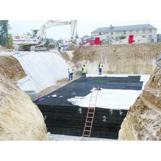 Structure pvc pour bassin de r tention des ep g olight for Bache pour bassin retention